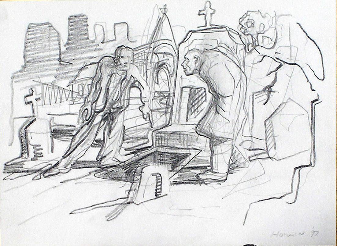 howson sketch rakes progress